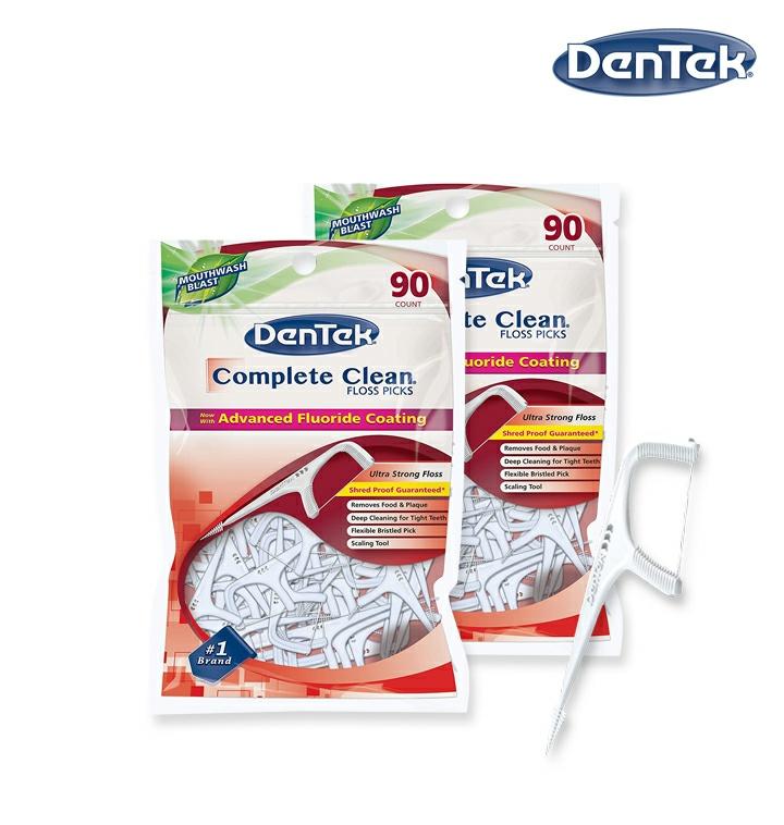 [덴텍] 컴플리트클린 치실 75개입x2개