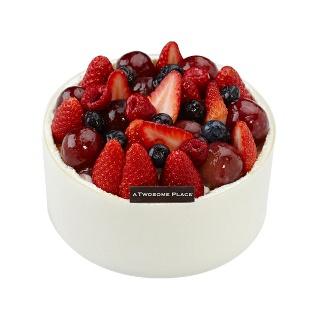 티몬균일가  투썸플레이스 마스카포네 생크림 케익 믹스드베리  1호 티몬E쿠폰으로 전국 어디서나