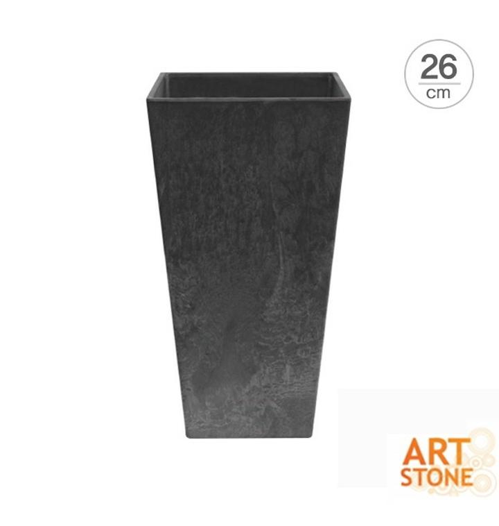 [아트스톤 Artstone] 텔 엘라 인테리어 사각화분(26cm)