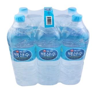 농심 백산수 생수 식수 물 순위 배달 2L 24 페트병 - 품질 좋음