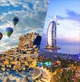 *긴급*160119_[패키지]유럽/지중해_자유투어_A380탑승/두바이+터키일주 10일