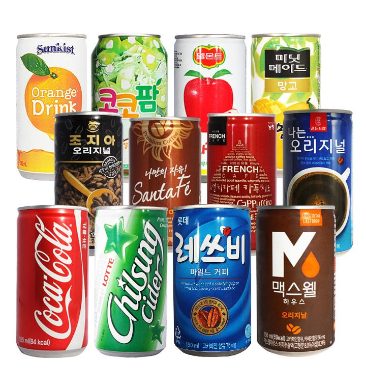 탄산음료 커피 쥬스 이온음료 식혜 음료수모음