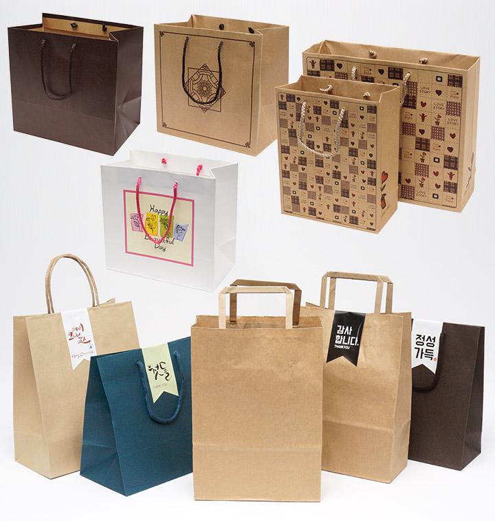 정성을 담은 가치있는 쇼핑백