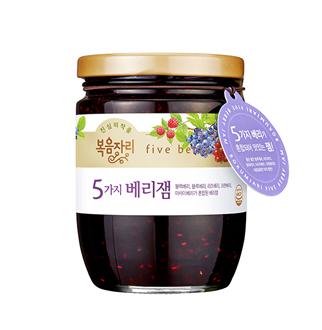 [슈퍼마트] 복음자리 5가지베리잼 350g
