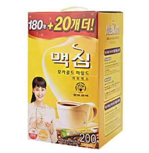 [대용량]모카골드 커피믹스 200Tx4개