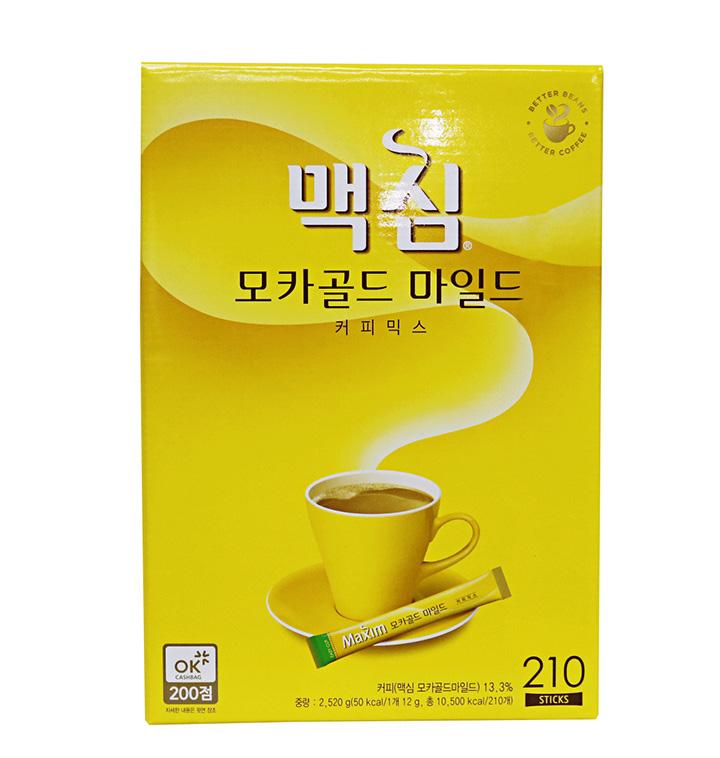 [대용량] 맥심 모카골드 커피믹스 210T x 4박스