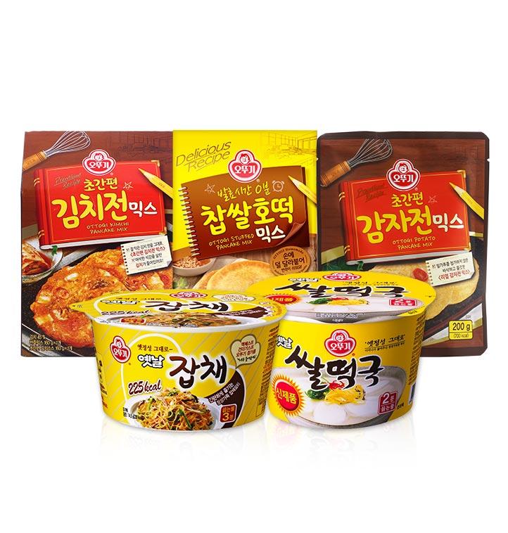 오뚜기김치전/감자전/호떡믹스