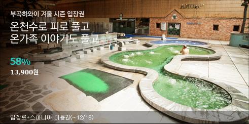 부곡하와이 입장권,TMON소셜 단독판매!