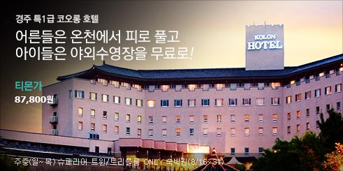 특1급코오롱호텔,야외수영장무료