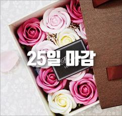 [슈퍼특가]핸드메이드 플라워 용돈박스