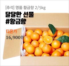 [추석] 꿀이 줄줄 명품 황금향 2/5kg