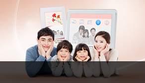 가정의달 디지털액자
